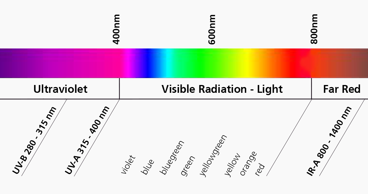 Electromagnetic Radiation, Visible Spectrum