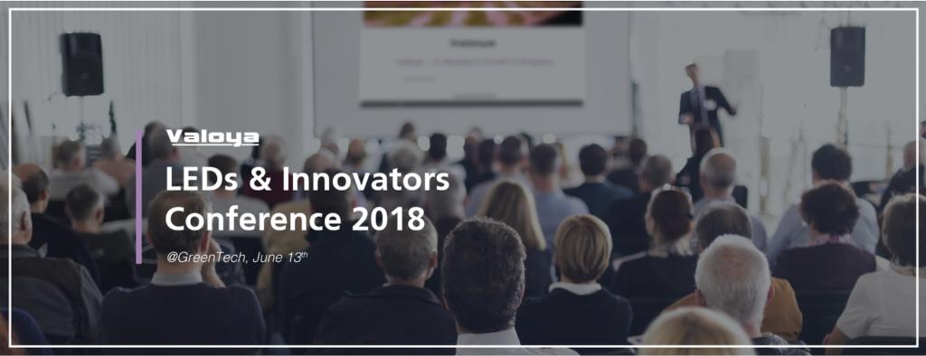 LEDs Innovators Conference 2018 Valoya