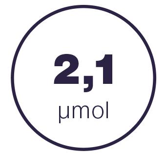 2,1 mmol