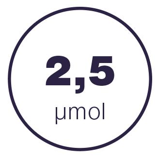 2,5 mmol