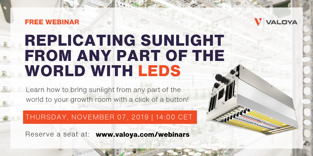 Valoya LED LightDNA Webinar