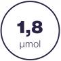 1,8 mmol